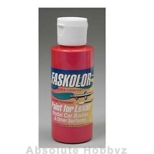 Parma PSE Fasescent Red Lexan Body Paint (2 oz) - PAR40150