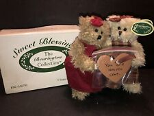 """THE BEARINGTON COLLECTION SWEET BLESSINGS 2003 7"""" BEARS VALENTINES STYLE 1073"""