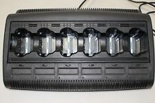 Motorola WPLN4108BR Impres WPLN4108 6 slots Multi-Unit Rack Charger for XTS 5000