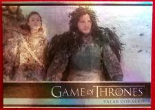 GAME OF THRONES - VALAR DOHAERIS - JON SNOW - Season 3 - FOIL PARALLEL Card #01