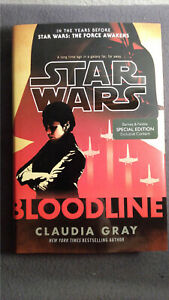 Star Wars Bloodline by Claudia Gray (2016, Hardcover) 1st Edition
