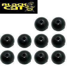 Black Cat Rubber Shock Beads 10mm Perlen Gummiperlen für Wallermontagen