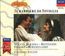 ROSSINI Il Barbiere di Siviglia box CD NEW Nucci Bartoli Matteuzzi Fissore