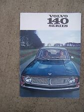 1970 Volvo 140 Series Auto Color Promo Catalog MORE VOLVO MANUALS IN OUR STORE U