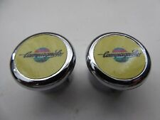 Vintage NOS 80's Campagnolo Yellow Bar end Plugs Set 4 Colnago Bianchi