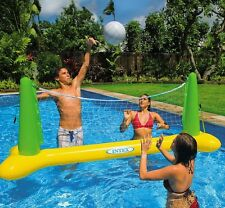INTEX Inflatable Pool Volleyball Set & Ball Floating Swimming Pool Game Toy