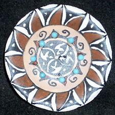 Miniature Southwest Native American Indian Gloria Bogulas #2413 Plate Platter