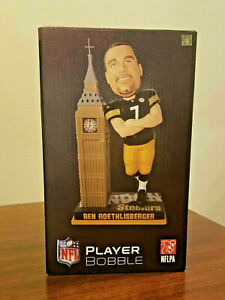 Ben Roethlisberger BIG BEN London Clock Tower Bobblehead Pittsburgh Steelers