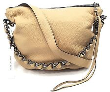 Marc Jacobs Big Apple Nomad NATURAL COLOR leather hobo bag $1295 New Chain Tote