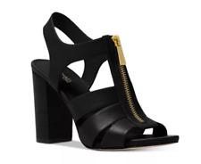 Michael Kors Damita Sandal Leather Black Women's sizes 6-11/NEW!!!