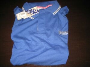 LONSDALE POLY/COTTON POLO SHIRT NEW WITH TAGS XL