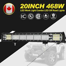 20 Inch 468 W CREE LED Work Light Spot Flood COMBO LED Off Road Driving Lights