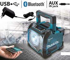 Makita Speaker Portatile da Cantiere Bluetooth e USB DMR202 senza Batteria