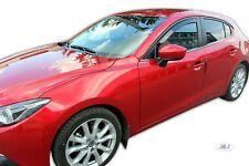 Mazda 3 III 4/5 portes 2013-prés Deflecteurs d'air Déflecteurs de vent 2pcs