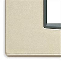 VIMAR EIKON PLACCA CLASSIC 4M CHAMPAGNE METAL 20654.07