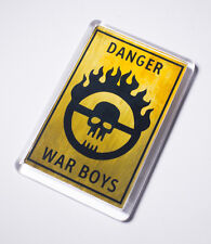 Mad Max Fury Road Inspired War Boys Sign Fridge Magnet