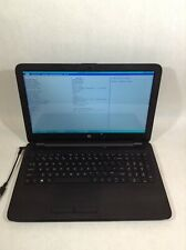 """New listing Hp Notebook 15-ba079dx 15.6"""" Laptop Amd A10-9600P 2.4Ghz - Boots - Rv"""