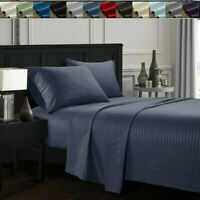 Dreaming Casa 4 P Deep Pocket Queen King Bed Sheet Set count Fitted Flat sheets