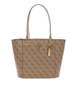 Guess Bag Logo Faux Leather Tote #