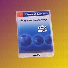 Tandberg RDX 80 GB, 8414 RDX QuikStore, Data Cartridge Speichermedium NEU & OVP