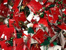 (50) Wholesale Christmas Holiday Earrings Brooches Bracelets Random New & Unused