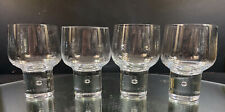 Kosta Boda---Mambo--Set of (4) Water Goblet---(3) Sets Of (4) Available--