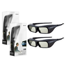 2x Genuine Sony Rechargeable 3d Active Eyewear Glasses Tdg-br250