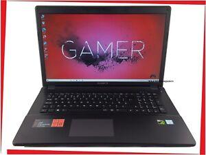"17.3"" GIGABYTE P17 Gaming Laptop Intel i7 Quad 16GB 128GB SSD + 1500GB HDD GTX"