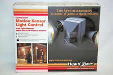 Heath Zenith CONVENIENT MOTION SENSOR LIGHT CONTROL #SL-5410-A (NEW) (#S8422)