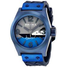 Brera Eterno Solo Stephen Gamson Navy Blue Dial Mens Watch BWSG24505