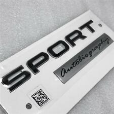 2018 RANGE ROVER BLACK SPORT AUTOBIOGRAPHY REAR TAILGATE  BOOT BADGE GENUINE