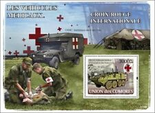 M1133 Medical Evacuation Vehicle (MEV) & USMC Ambulance Stamp Sheet (Red Cross)