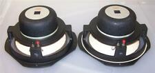 """2 vintage JBL LE-111A 10"""" alnico woofers speakers 8 ohms   -need refoamed-"""