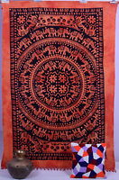 Hippie Indian Bohemian Tapestry Elephant Throw Wall Hanging Gypsy Bedspread Art