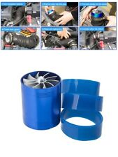 F1-Z Air Intake Single Fan Turbine Turbo Supercharger Gas Car Fuel Saver Turbo