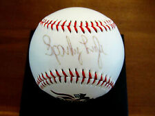 SPARKY LYLE SOMERSET PATRIOTS MANAGER YANKEES WSC SIGNED AUTO BASEBALL JSA