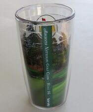 New 2016 MASTERS TERVIS TUMBLER 16 oz. GLASS CUP with Hole 16 Picture