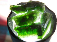 6pc RARE NATURAL ROUGH  CHROME DIOPSIDE 15- 30mm sizes from Skardu Pakistan #25