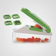 Apex agréable fruit presse légumes aliments Outil Trancheuse Peeler Chopper Dicer 4 Cutters