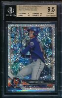 BGS 9.5 JARRED KELENIC 2018 Bowman Draft Chrome SPARKLES REFRACTOR RC GEM MINT