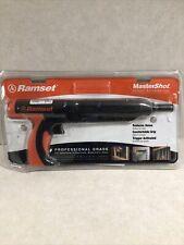 Ramset Mastershot 022 Caliber Powder Actuated Tool Damaged Open Packaging