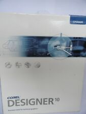 Corel DESIGNER 10 - Upgrade Windows PC vector engineering drawing software