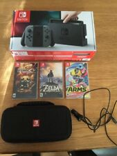 Nintendo Switch Bundle Zelda, Binding Of Isaac +carry Case, Arms and car charger