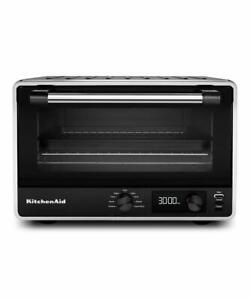 New KitchenAid KCO211BM Digital Countertop Toaster Oven, Black Matte