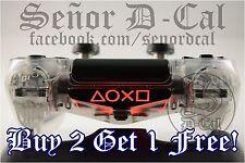 1x Sony Playstation Buttons PS4 Controller Lightbar Decal Sticker