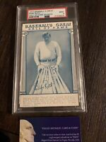 1977 Hall of Fame Exhibits Babe Ruth w/ White Back Certified PSA Mint 9