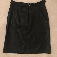 New Look faux leather skirt, size 16