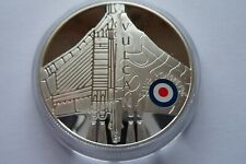 More details for 2008 st helena £5 925 silver proof coin history of raf vulcan 28.28g