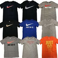 Big Boys Nike Cotton Graphic T-Shirt