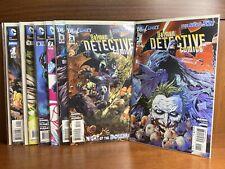 DC New 52 Batman Detective Comics #1-12 + #1 Annual First Prints Tony S. Daniel